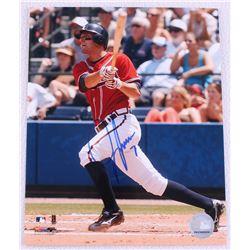 Jeff Francoeur Signed Braves 8x10 Photo (MLB Hologram)