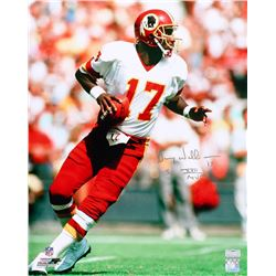 "Doug Williams Signed Redskins 16x20 Photo Inscribed ""SB XXII MVP"" (Radtke COA)"