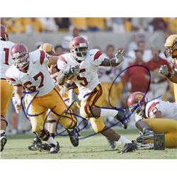 Reggie Bush Signed USC Trojans 8x10 Photo (Bush Hologram)