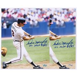 "Lot of (2) Dale Murphy Signed Braves 8x10 Photos Inscribed ""NL MVP 82, 83"" (Radtke COA)"