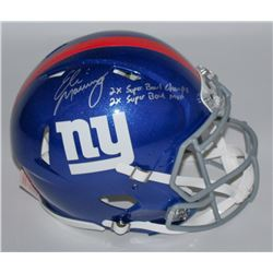 Eli Manning Signed Giants Full-Size Authentic Pro-Line Speed Helmet Limited Edition #1/10 (Steiner C