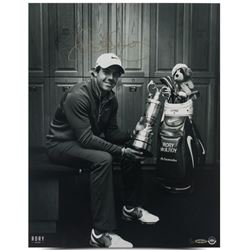 "Rory McIlroy Signed ""Locker Room"" LE 16x20 Photo (UDA COA)"