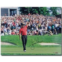 "Tiger Woods Signed ""73rd Victory"" LE 16x20 Photo (UDA COA)"