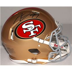 Aldon Smith Signed 49ers Full-Size Authentic Pro-Line Speed Helmet (Radtke COA)