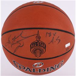 """Kobe Bryant Signed LE NBA All-Star Official Game Ball Basketball Inscribed """"18x A.S"""" (Panini COA)"""