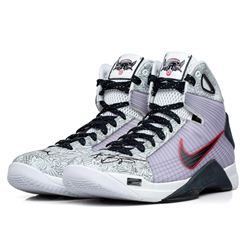 "Kobe Bryant Signed Limited Edition Nike Hyperdunk Olympic Shoes Inscribed ""2x Gold"" #1/8 (Panini COA"