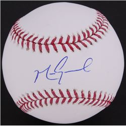 Mark Grace Signed OML Baseball (JSA COA)