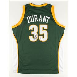 "Kevin Durant Signed Supersonics LE Jersey Inscribed ""08 ROY"" (Panini COA)"