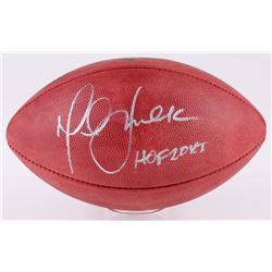 "Marshall Faulk Signed ""The Duke"" Official NFL Game Ball Inscribed ""HOF 20XI"" (JSA COA)"