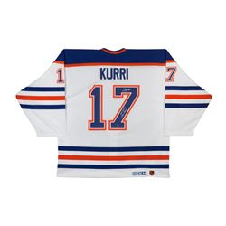 "Jari Kurri Signed LE Authentic Oilers Jersey Inscribed ""601 Goals 1398 Points"" (UDA COA)"