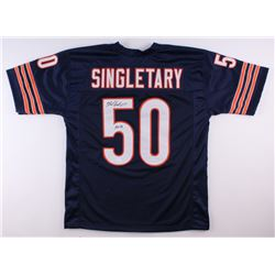 "Mike Singletary Signed Bears Jersey Inscribed ""HOF 98"" (JSA COA)"