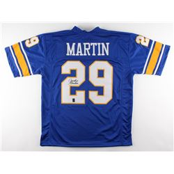 Curtis Martin Signed Pittsburgh Panthers Jersey (GTSM Hologram)