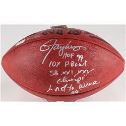 Lawrence Taylor Signed LE Official NFL Game Ball with (4) Inscriptions (Radtke COA)