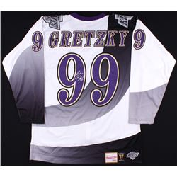 Wayne Gretzky Signed Kings Authentic 1995-96 Mitchell  Ness Jersey (UDA COA)