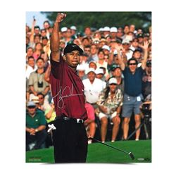 "Tiger Woods Signed ""2001 Masters"" 20"" x 24"" Photo (UDA COA)"