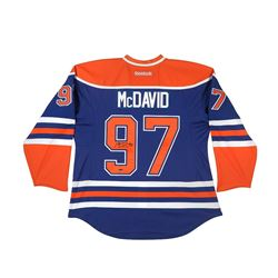 Connor McDavid Signed Authentic Oilers Captain Jersey (UDA COA)