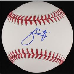 Julio Urias Signed OML Baseball (MLB Hologram)