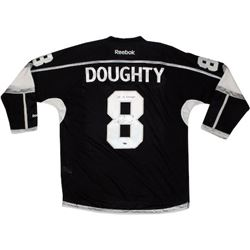 "Drew Doughty Signed Kings 2014 Stanley Cup Jersey Inscribed ""14 SC Champs"" (Steiner COA)"