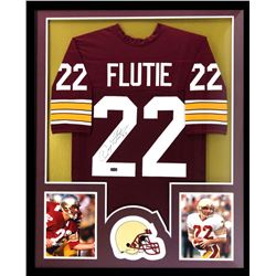 Doug Flutie Signed Boston College Eagles 34x42 Custom Framed Jersey (Radtke COA)