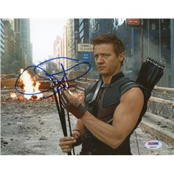 "Jeremy Renner Signed ""Avengers"" 8x10 Photo (PSA COA)"