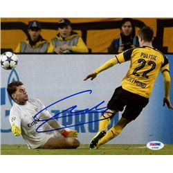 Christian Pulisic Signed Dortmund 8x10 Photo (PSA COA)