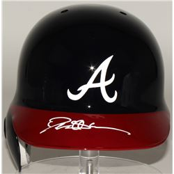 Deion Sanders Signed Braves Full-Size Batting Helmet (JSA COA)