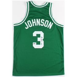 Dennis Johnson SIgned Celtics Jersey (JSA LOA)