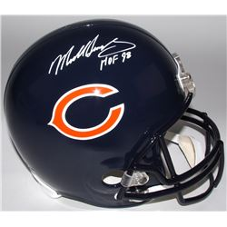 "Mike Singletary Signed Bears Full-Size Helmet Inscribed ""HOF 98"" (Radtke COA)"