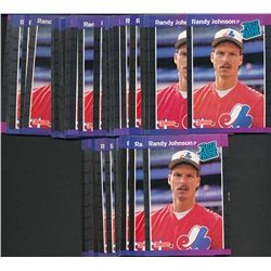 Lot of (50) 1989 Donruss #42 Randy Johnson RC