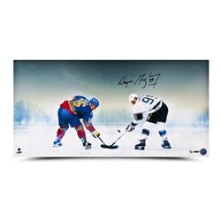 "Wayne Gretzky Signed ""Frozen Pond"" 15x30 Limited Edition Photo (UDA)"