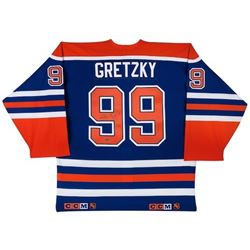 Wayne Gretzky Signed Oilers CCM Authentic On-Ice Jersey (UDA)
