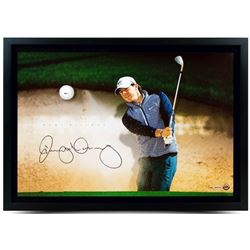 "Rory McIlroy Signed ""Sand Trap"" 16x24 Custom Framed Limited Edition Photo Display with Range Driven"