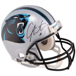 Cam Newton Signed Panthers Full-Size Authentic On-Field Helmet (Fanatics)