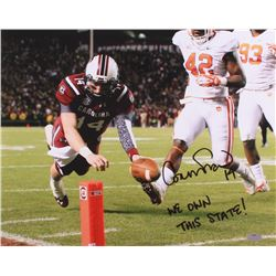 "Connor Shaw Signed South Carolina Gamecocks 16x20 Photo Inscribed ""We Own This State!"" (Radtke Holog"