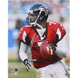 Michael Vick Signed Falcons 16x20 Photo (Radtke COA  Vick Hologram)