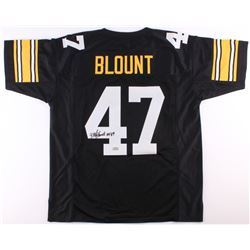 "Mel Blount Signed Steelers Jersey Inscribed ""HOF 89"" (Radtke COA)"
