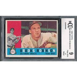 1960 Topps #28 Brooks Robinson (BCCG 9)