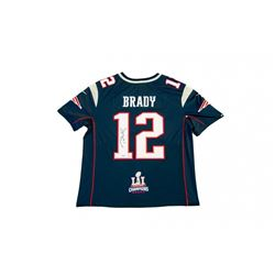 Tom Brady Signed Patriots Limited Edition Nike Jersey with Super Bowl 51 Patch (TriStar)