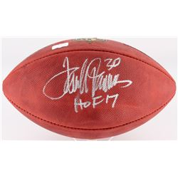 "Terrell Davis Signed ""The Duke"" Official NFL Game Ball Inscribed ""HOF 17"" (Radtke COA)"