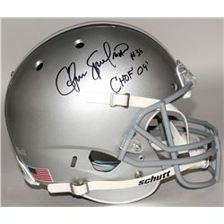 "Chris Spielman Signed Ohio State Buckeyes Full-Size Helmet Inscribed ""CHOF 09"" (Radtke COA)"