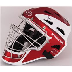 Yadier Molina Signed Rawings Catcher's Mask (MLB Hologram)