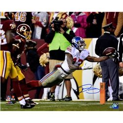 "Odell Beckham Jr. Signed Giants ""Diving Catch"" 16x20 Photo (Steiner COA)"