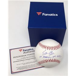 "Cody Bellinger Signed Limited Edition OML Baseball Inscribed ""1st Postseason HR 10/9/17"" (MLB  Fanat"