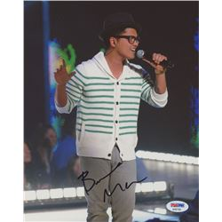 Bruno Mars Signed 8x10 Photo (PSA COA)