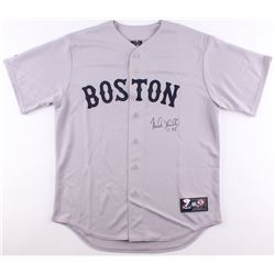 Mike Lowell Signed Red Sox Jersey (JSA COA)