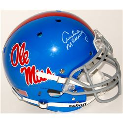 Archie Manning Signed Ole Miss Rebels Full-Size Authentic On-Field Helmet (Radtke COA)