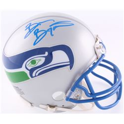 Brian Bosworth Signed Seahawks Throwback Mini Helmet (Radtke COA)
