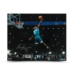 "Larry Johnson Signed Hornets ""Spotlight"" 16x20 Limited Edition Photo (UDA COA)"