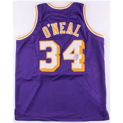 Shaquille O'Neil Signed Lakers Jersey (JSA COA)