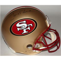 Jerry Rice Signed 49ers Full Size Authentic On-Field Helmet (Rice Hologram)